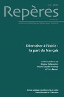 Couverture revue repère Y.Reuter