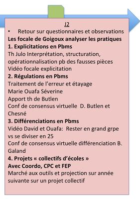 Frise chronologique J2 résolution de pbm cycle 2 et 3