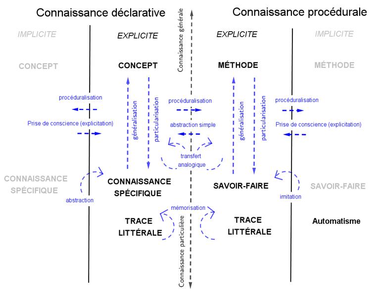 Matrice-carte-des processus apprentissages-Tricot