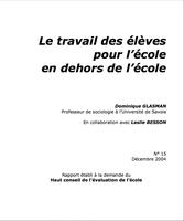 Rapport HCE GLASMAN