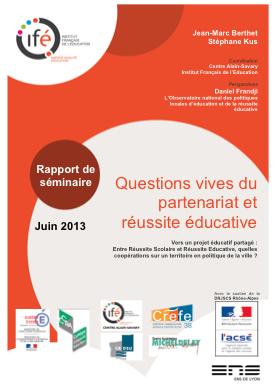 couverture rapport QVP 2012-2013