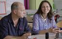 Christophe, coordonnateur, et Myriam, conseillère pédagogique