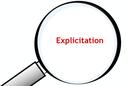 Explicitation