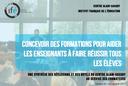 """Des nouveautés dans le livret """"Concevoir des formations"""" !"""