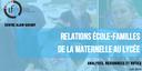 Relations École-Familles : un livret ressource pour l'action